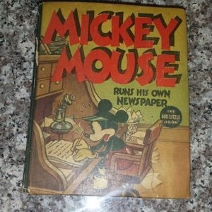 1938 Mickey. Mouse Big Little Book